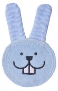 Review - MAM Oral Care Teething Rabbit in Cloth 1