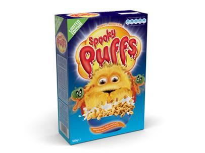 Honey Monster Spooky Puffs