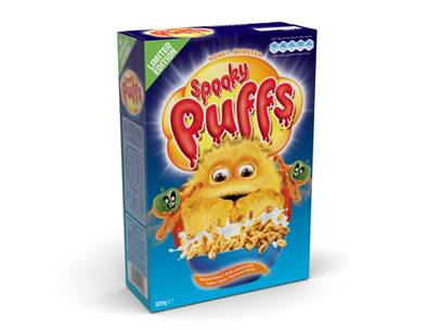 Honey Monster Spooky Puffs