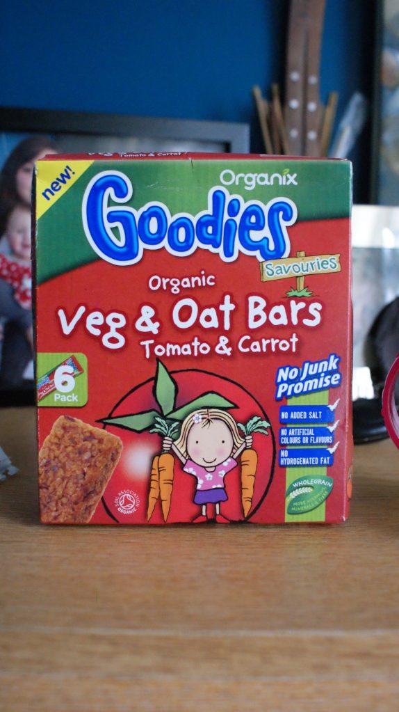 Organix Goodies Veg and Oat Bars