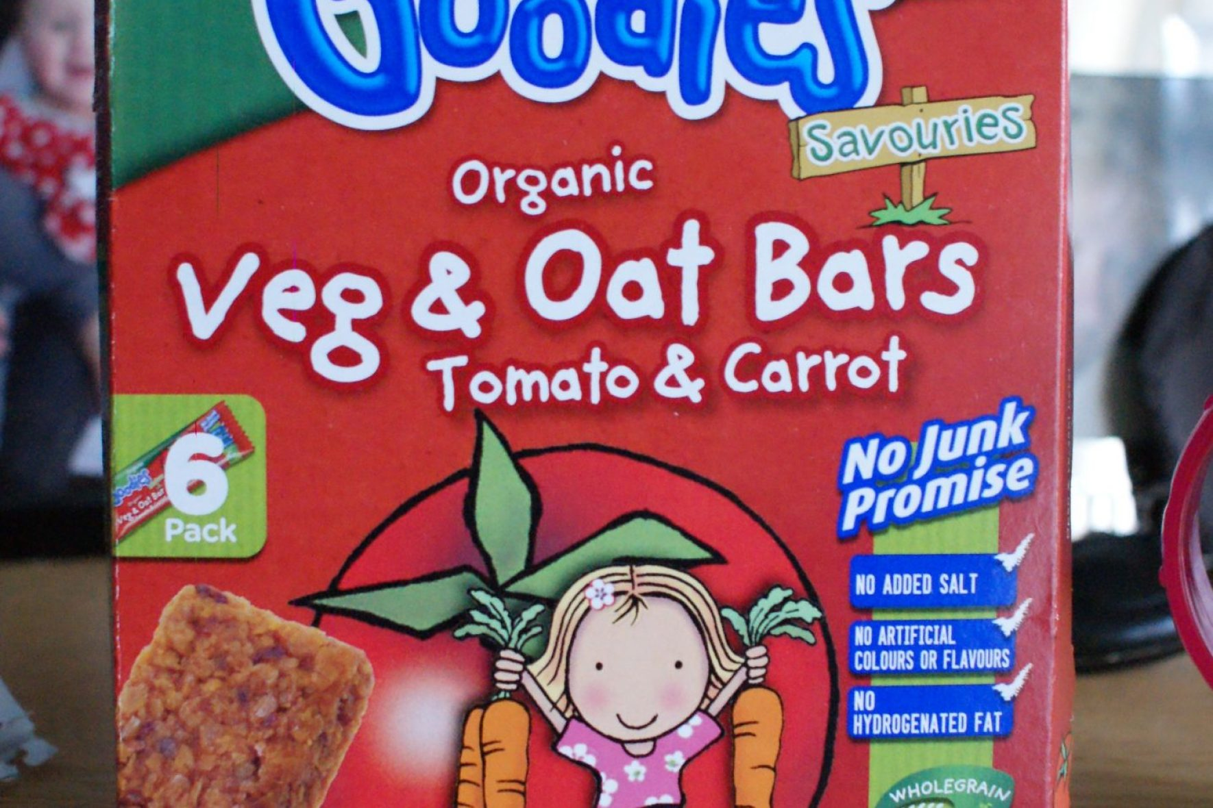 Organix Goodies Veg and Oat Bars