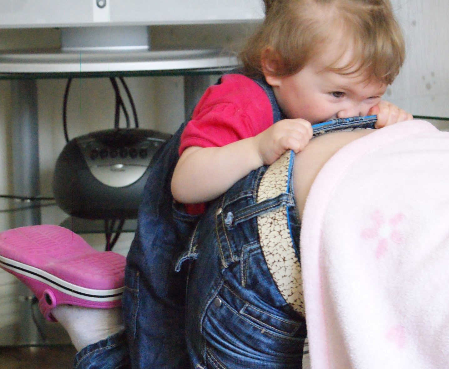 playful toddler, Isabelle, Not Always Right, Project 366
