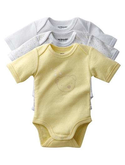 Vertbaudet, baby vests, short baby vests, unisex baby vests