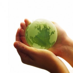 Help the environment, go green, recycle