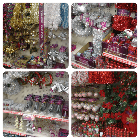 Poundland Decorations