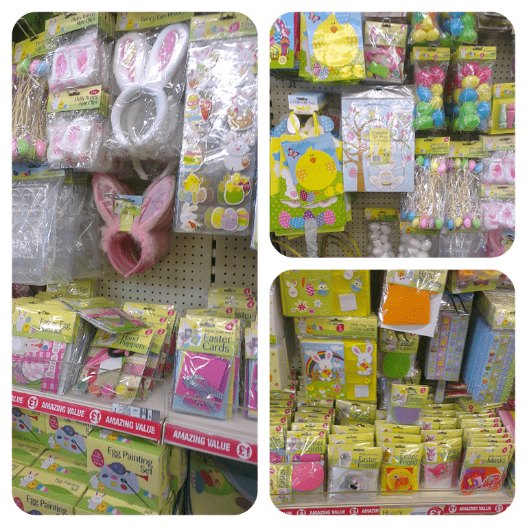 Easter fun for under £20 with Poundland 2