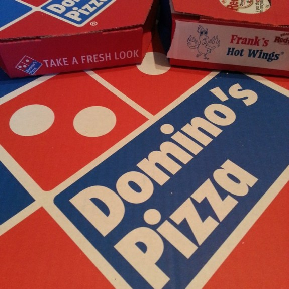 Dominos Chimichurri™ Pizza Review 4