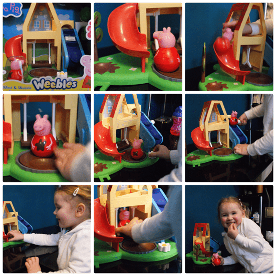 Peppa Pig Wind and Wobble Playhouse