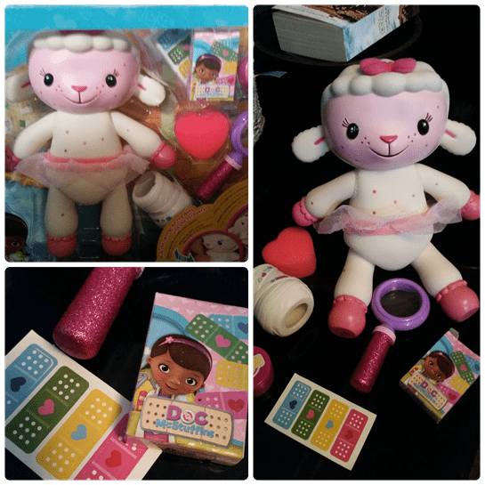 Doc McStuffins Spotty Lambie Playset Review 14