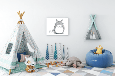 Fun ways to decorate your child's bedroom 3