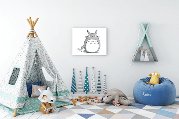 Fun ways to decorate your child's bedroom 11
