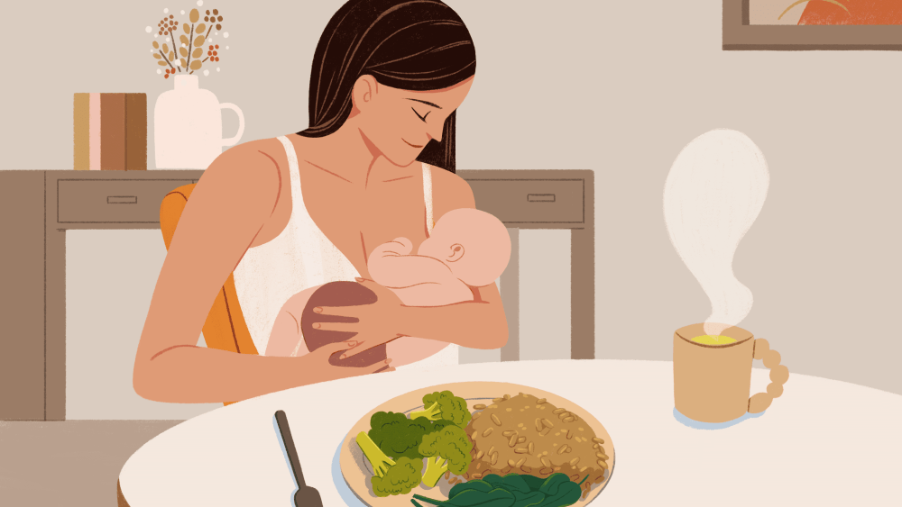 Postpartum Recovery With Food