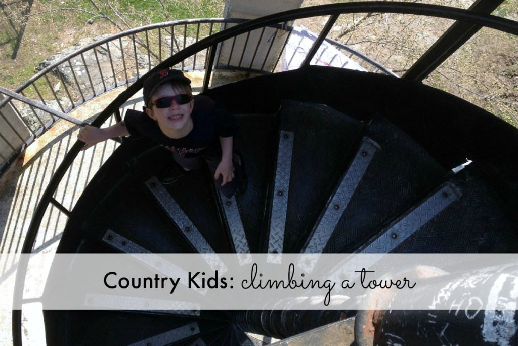 Climbing a Tower - Featured