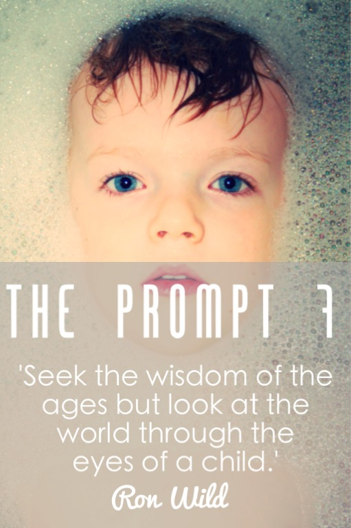 The Prompt 7: The eyes of a child