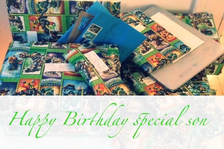 Happy Birthday special son