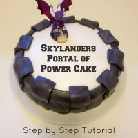 Bake: Skylanders Portal of Power Cake
