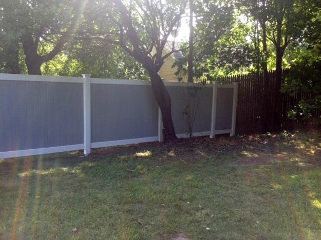 Fence Completed