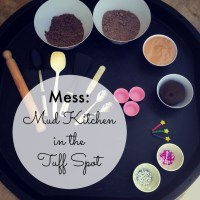 Tuff Spot A-Z: M is for Mud Kitchen