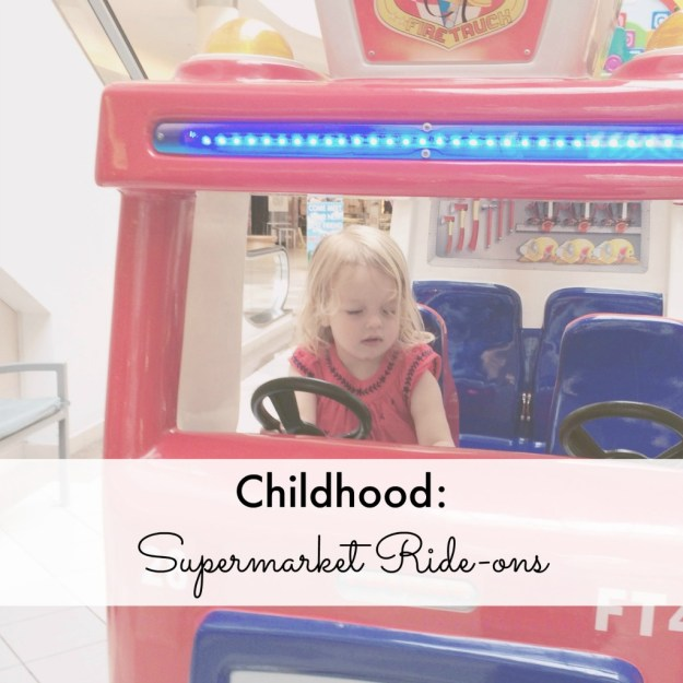 Childhood Supermarket Ride-ons