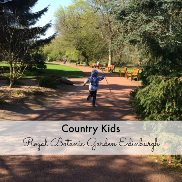 Country Kids Royal Botanic Garden Edinburgh