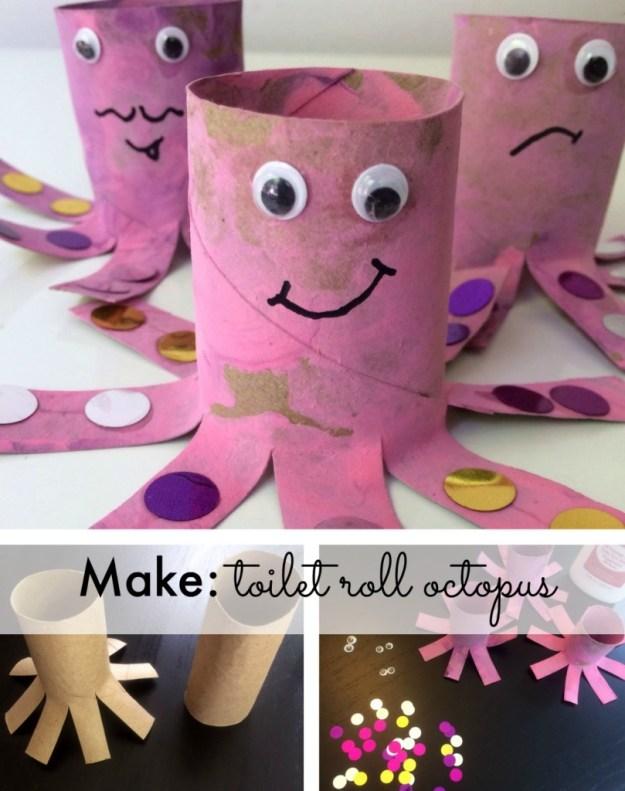 Make: toilet roll octopus tutorial