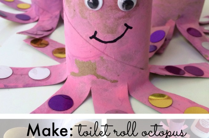 Make: toilet roll octopus tutorial
