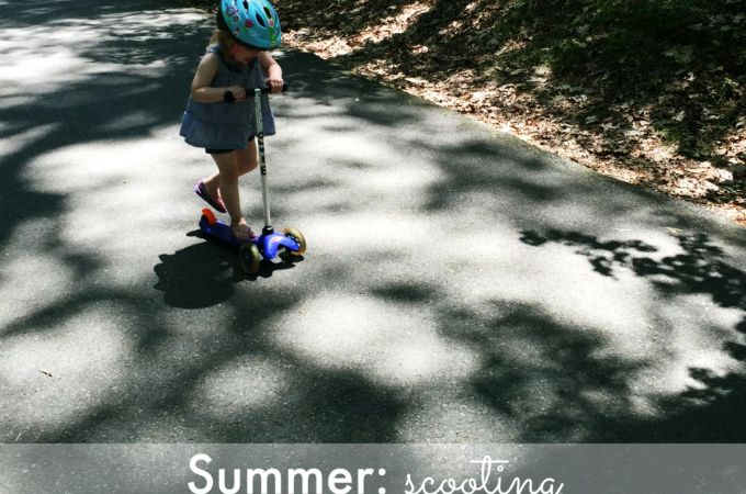 Summer: scooting