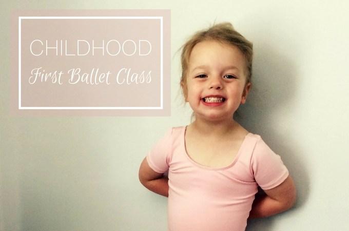 Childhood: first ballet class