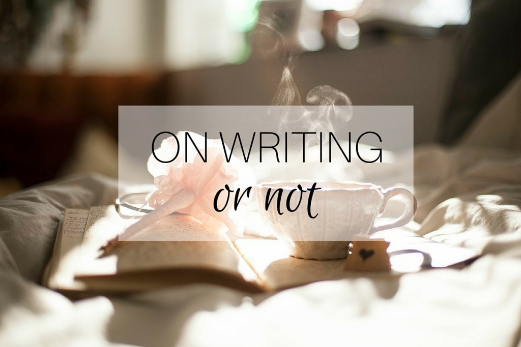ON WRITING Or Not