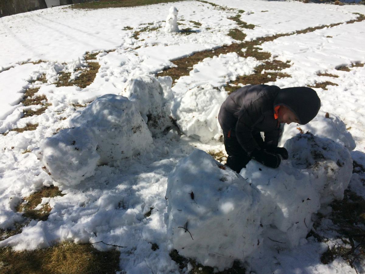 Snow Fort 4