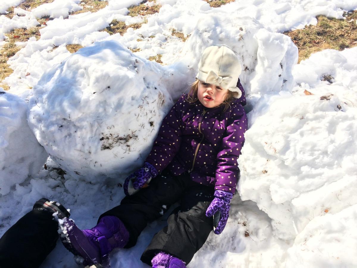 Snow Fort 6