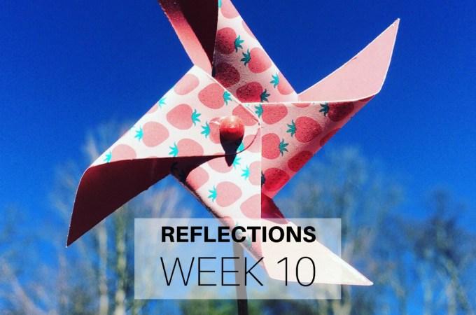 Reflections Week 10