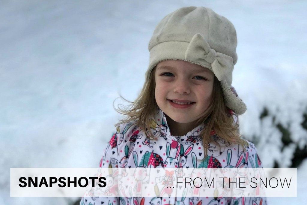 Snapshots from the snow