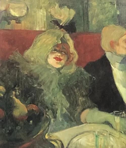 アンリ・ド・トゥールーズ=ロートレック《個室の中》(「ラ・モール」にて)1899年頃