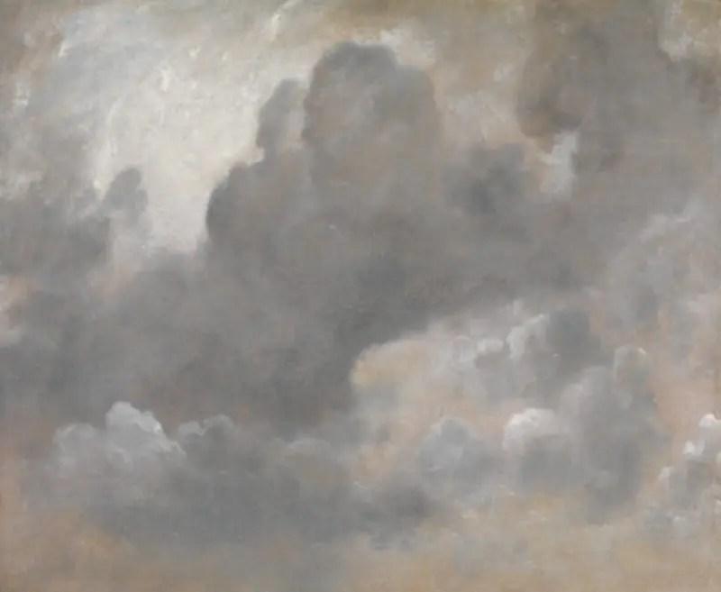 コンスタブル-《雲の習作》