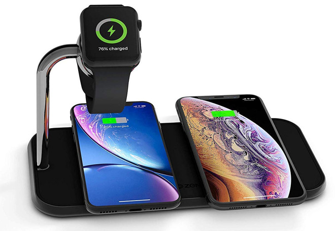 Best Wireless Charging Stations for iPhone, Apple Watch, and AirPods