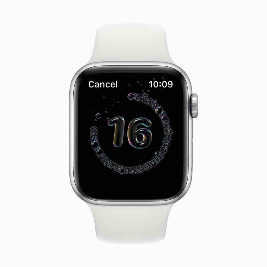 Apple Watch Handwashing Feature in watchOS 7 Was in Development for Years