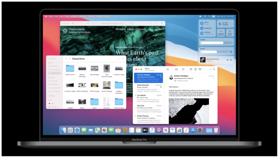 Apple Announces macOS Big Sur With New Design, Control Center, Improved Safari