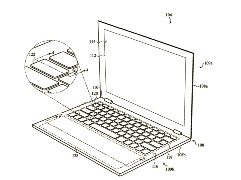 Future MacBook Pro Could Get Virtual Backlit Trackpad That's Adjustable in Size
