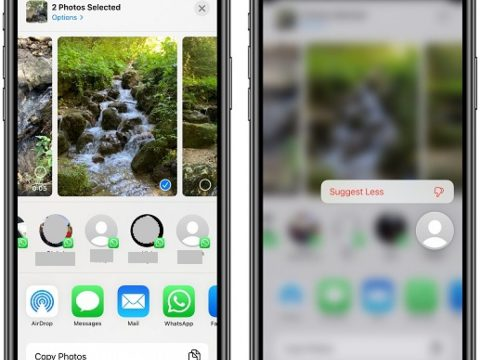 How to Disable Contact Suggestions From the Share Sheet on iPhone and iPad
