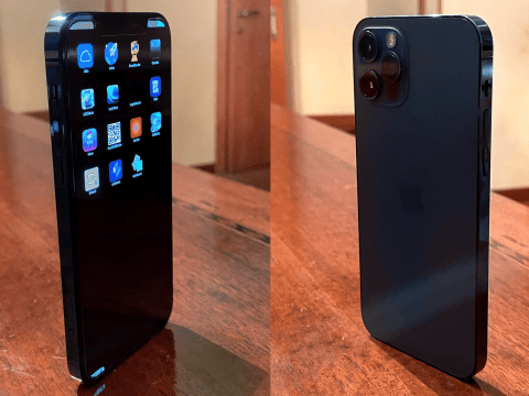 Images of Alleged iPhone 12 Pro Prototype Shows Different Blue Colour, Internal Build of iOS 14
