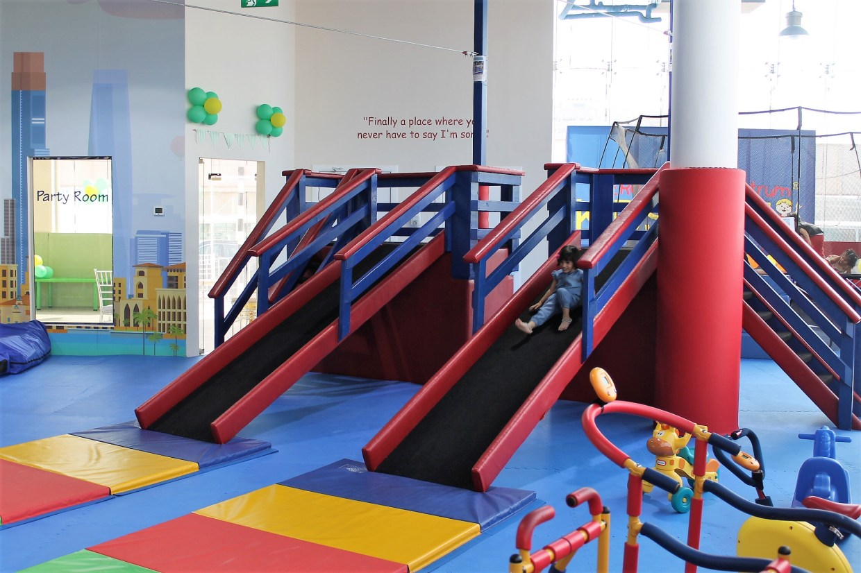 Interior WRTS Dubai Kids Gym