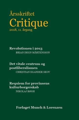 Critique 2018