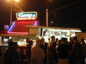 Original Tommy's on a Friday night
