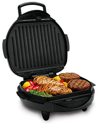 Hamilton Beach 25326 Indoor Grill With Removable Grids