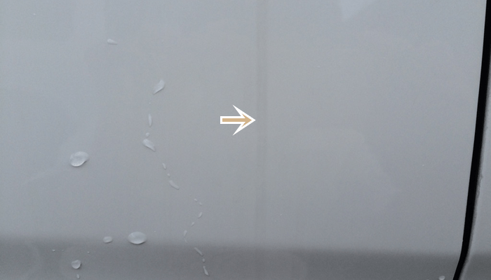 リンレイの水アカ一発。車にこびりついた水垢を簡単除去できる超おススメクリーナー。 (3/6)