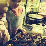Cooking In The Kitchen..Having Fun – Rice Krispie Cakes with a Gooey surprise