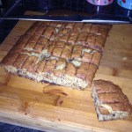 Banana, Coconut and Dark Chocolate Traybake