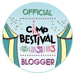 Munchies and munchkins camp festival official blogger badge