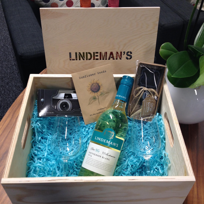 Lindemans personalised crate